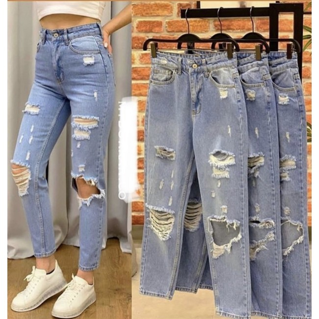 "Jeans ""destroyed"""