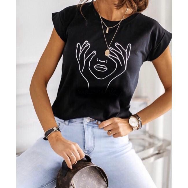 T-Shirt Gesicht und Hände