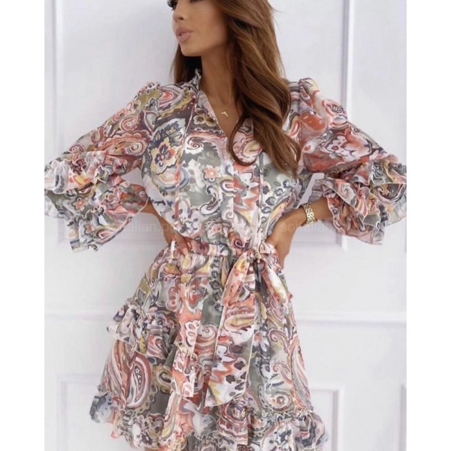 Sommer buntes Kleid