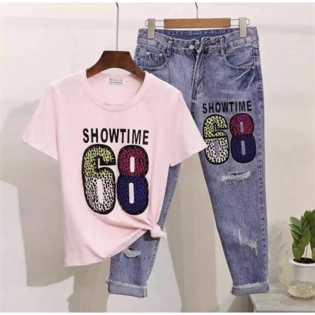 SET Jeans/Tshirt 68
